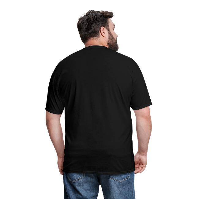 It Puts It In the Basket Disc Golf Shirt - Men's Heavyweight  Tee - White Print