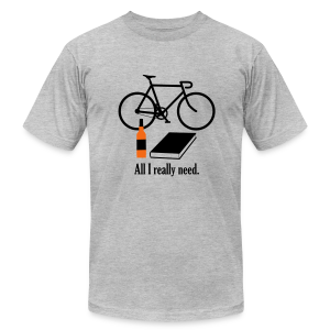All I Really Need - Men's Fine Jersey T-Shirt