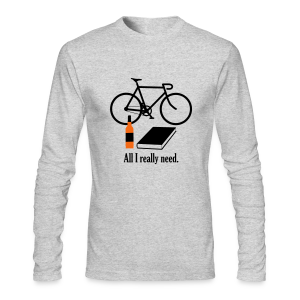 All I Really Need - Men's Long Sleeve T-Shirt by Next Level