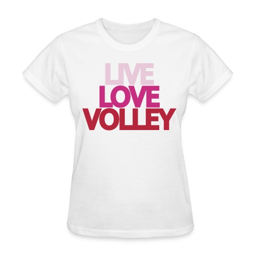i heart volleyball t shirt - Women's T-Shirt