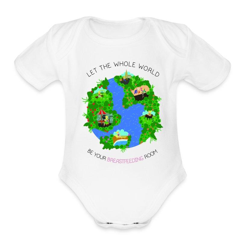 Mama Garcia Short Sleeve Once Piece - Short Sleeve Baby Bodysuit
