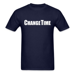 Men CHANGETIME Standard T-Shirt Navy - Men's T-Shirt