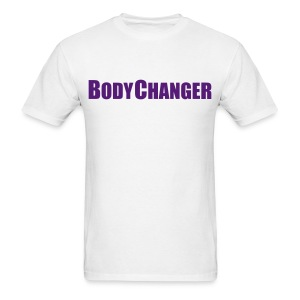 Men BODYCHANGER Standard T-Shirt White - Men's T-Shirt