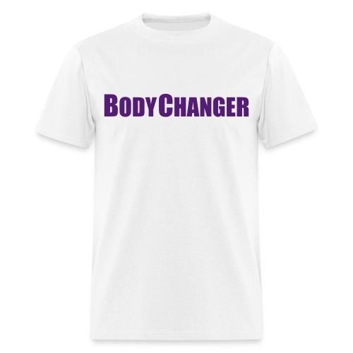 Men BODYCHANGER Standard T-Shirt White - Men's T-Shirt