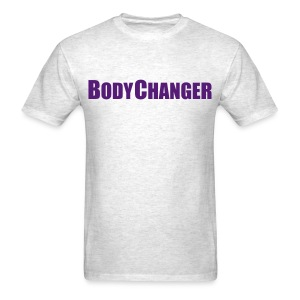 Men BODYCHANGER Standard T-Shirt Grey - Men's T-Shirt