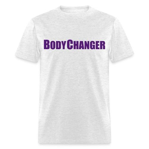 Men BODYCHANGER Standard T-Shirt Grey - Men's T-Shirt
