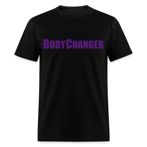 Men BODYCHANGER Standard T-Shirt Black - Men's T-Shirt