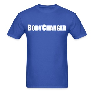 Men BODYCHANGER Standard T-Shirt Blue - Men's T-Shirt