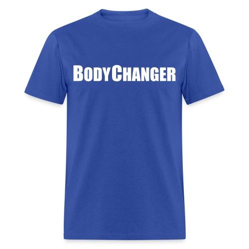 Men BODYCHANGER Standard T-Shirt Blue - Men's T-Shirt