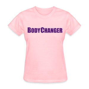 Woman BODYCHANGER Standard T-Shirt Pink - Women's T-Shirt