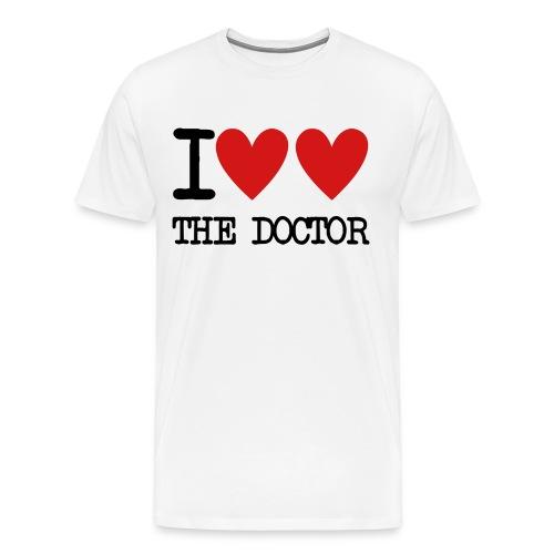 I Love the Doctor - Men's Premium T-Shirt