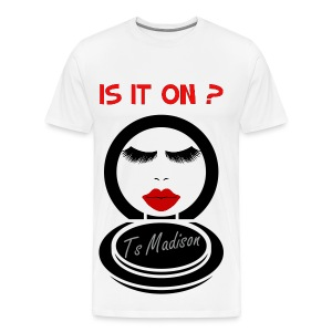 Is it on Compact. - Men's Premium T-Shirt