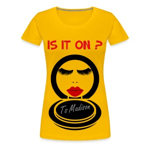 Is it on Compact. - Women's Premium T-Shirt