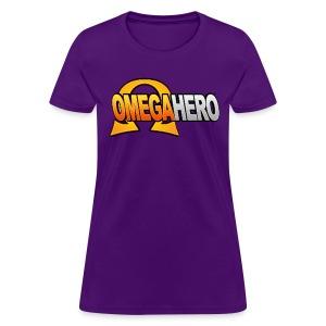 Omega Hero Logo (Women) - Women's T-Shirt