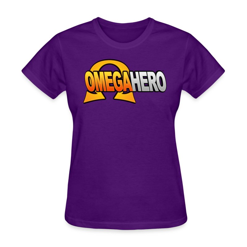 Omega Hero Logo (Women) - Women's T-Shirt