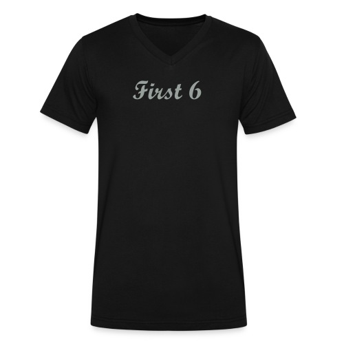 First 6 V-Neck  - Men's V-Neck T-Shirt by Canvas