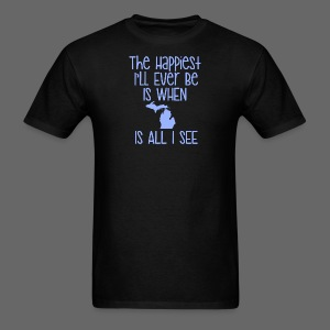 Happiest I'll Ever Be - Men's T-Shirt