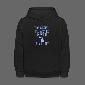 Happiest I'll Ever Be - Kids' Hoodie