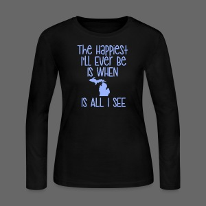 Happiest I'll Ever Be - Women's Long Sleeve Jersey T-Shirt