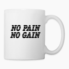 No Pain No Gain Bottles & Mugs
