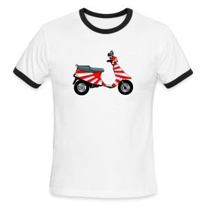 Japanese Imperial Scooter - Men's Ringer T-Shirt