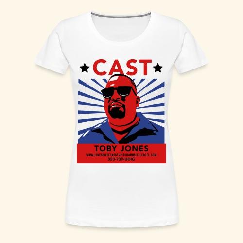 Cast Toby! - Fancy-style Lady - Women's Premium T-Shirt