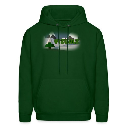 The Low Poly - Men's Hoodie