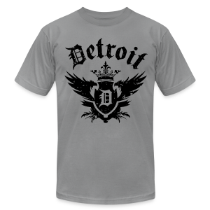 DETROIT ROYALTY - Men's T-Shirt by American Apparel