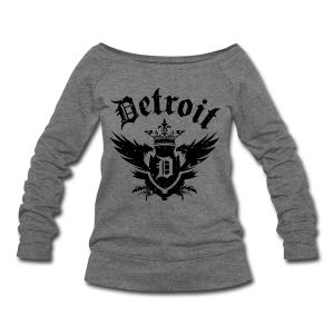 DETROIT ROYALTY - Women's Wideneck Sweatshirt