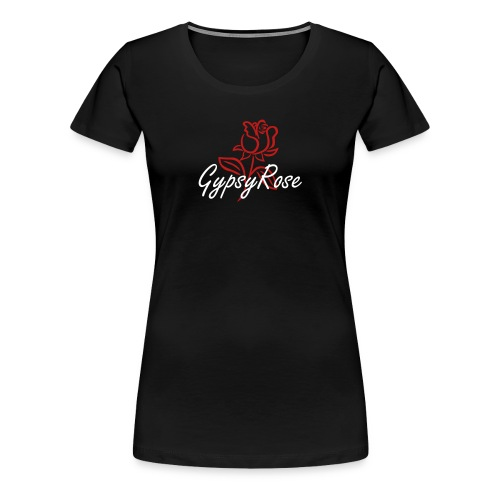 Gypsy Rose Short-Sleeved Tee - Women's Premium T-Shirt