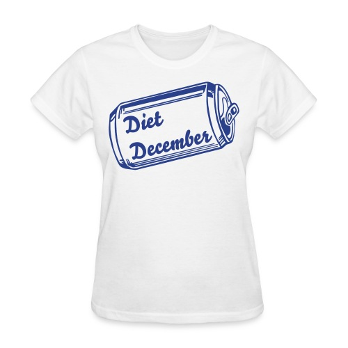 Diet December Can Woman - Women's T-Shirt