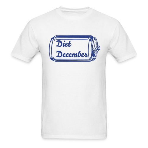 Diet December Can - Men's T-Shirt