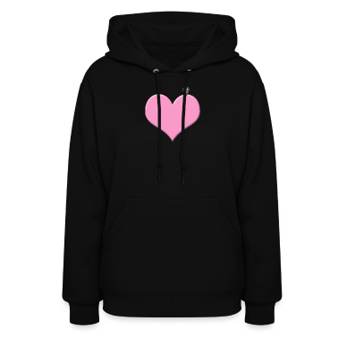 heart you are here - love and valentine's day Hoodies