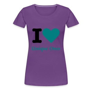 I love Unique Ones - Women's Premium T-Shirt