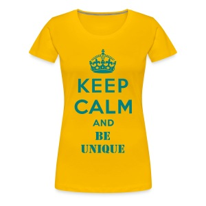 Be Uniques  - Women's Premium T-Shirt