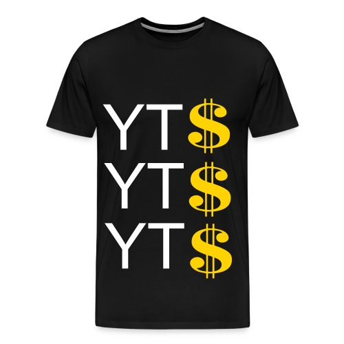 Youtube $$$ - Men's Premium T-Shirt