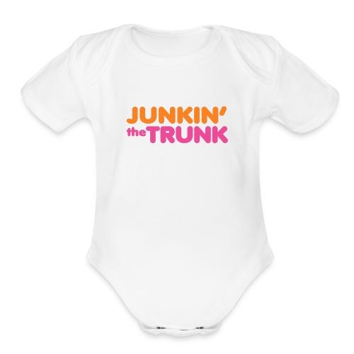 Junkin' the Trunk - Baby   - Organic Short Sleeve Baby Bodysuit