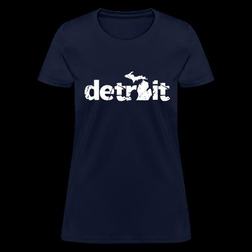 DETROIT-MICHIGAN - Women's T-Shirt