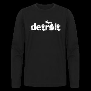 DETROIT-MICHIGAN - Men's Long Sleeve T-Shirt by Next Level