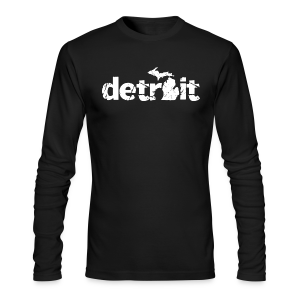 DETROIT-MICHIGAN - Men's Long Sleeve T-Shirt by Next Level