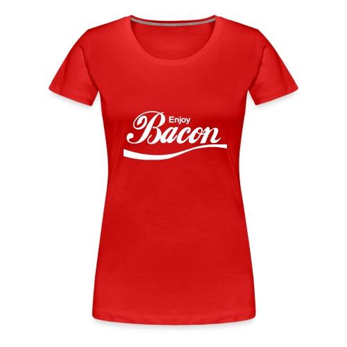 Enjoy Bacon T-Shirt - Women's Premium T-Shirt