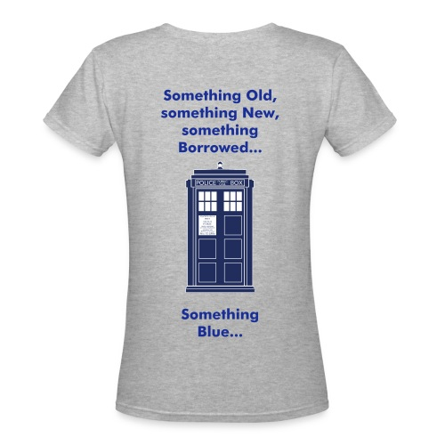 Something Blue - Women's V-Neck T-Shirt