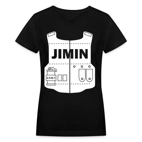 BTS - Jimin - Women's V-Neck T-Shirt