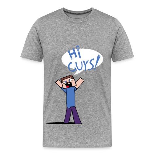 HI GUYS - Male - Men's Premium T-Shirt