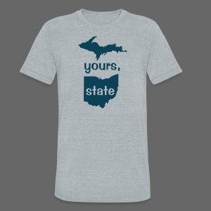 Up Yours Ohio - Unisex Tri-Blend T-Shirt