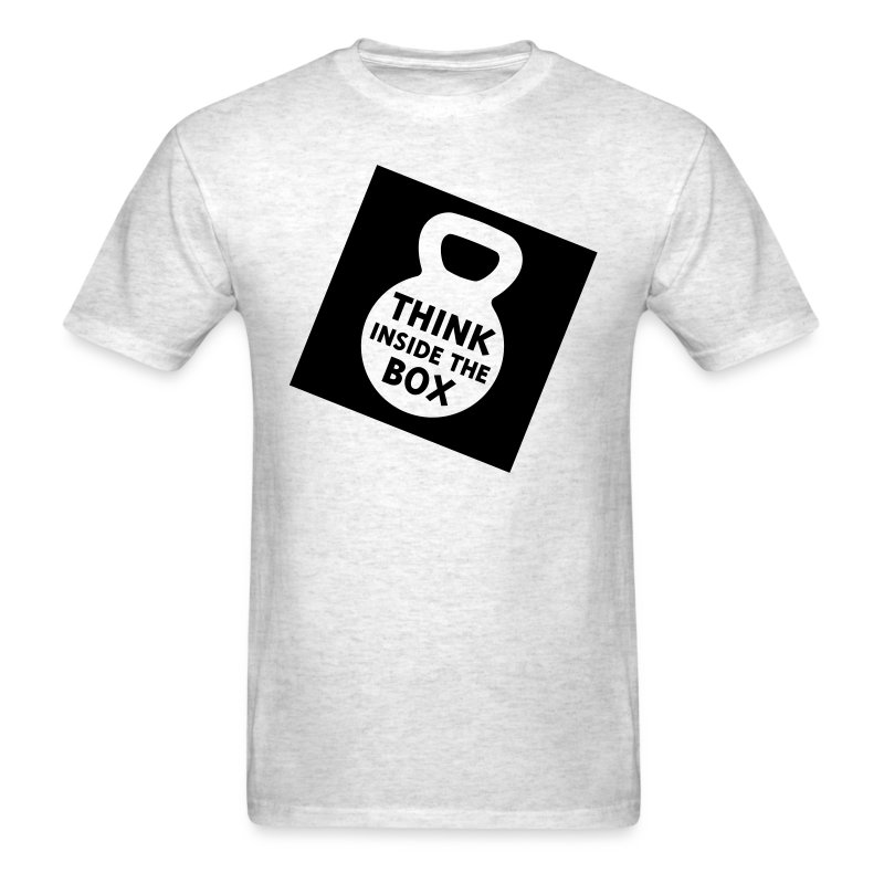 Think Inside the Box Men's Standard Tee - Men's T-Shirt