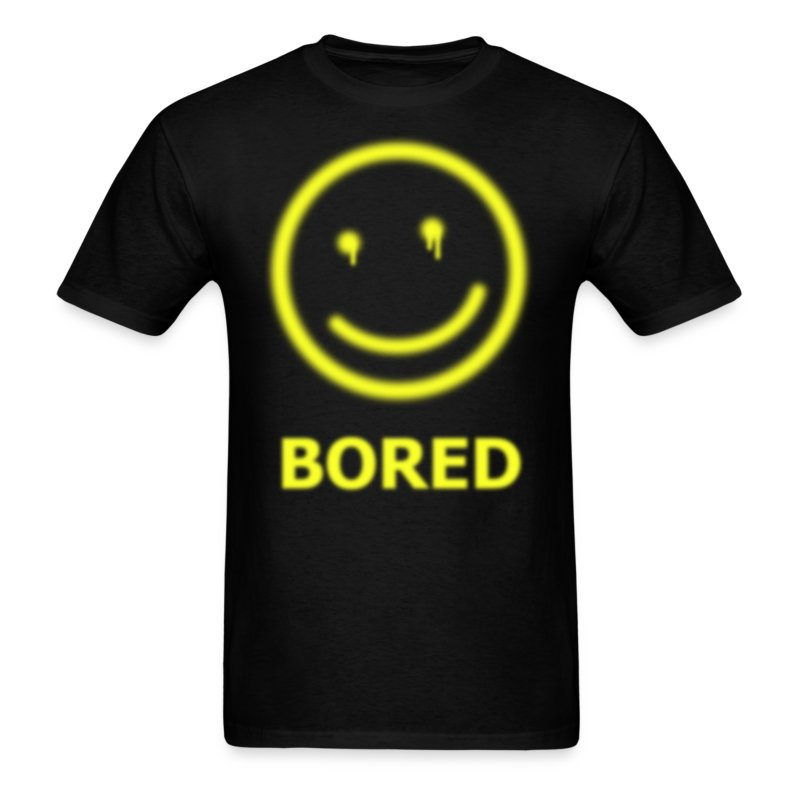 Sherlock holmes bored t shirt spreadshirt for Bored now t shirt