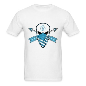 American Skull Legend Blue - Men's T-Shirt