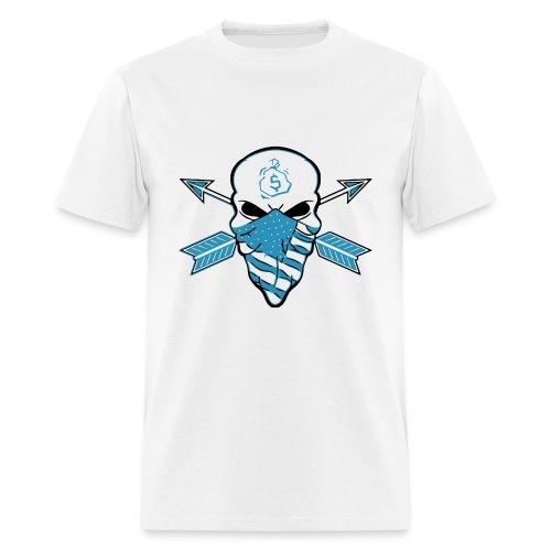 American Skull Legend Blue - Men's T-Shirt