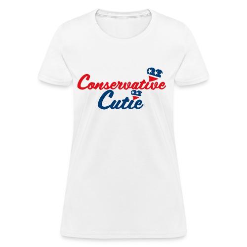 Conservative Cutie ;) - Women's T-Shirt